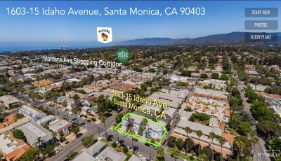 1603-15 Idaho Avenue, Santa Monica, CA 91403 3D Model