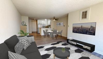 840 Larabee –  1 Bedroom – Virtual Staging 3D Model